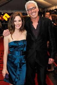 Caroline Dhavernas and Producer Niv Fichman at the premiere of