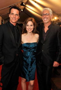 Director Paul Gross, Caroline Dhavernas and Producer Niv Fichman at the premiere of