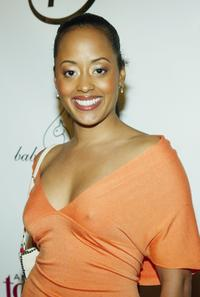 Essence Atkins at the UPN'S