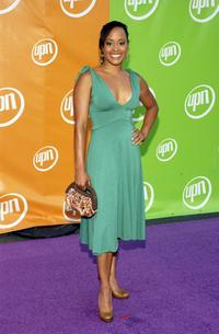 Essence Atkins at the UPN Stars party.