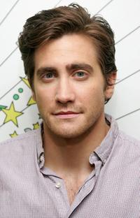Jake Gyllenhaal at the MTV's Total Request Live.