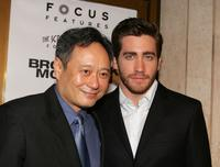 Ang Lee and Jake Gyllenhaal at the premiere of