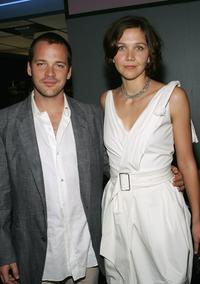 Peter Saarsgard and Maggie Gyllenhaal at the premiere of