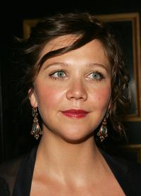 Maggie Gyllenhaal at the world premiere of