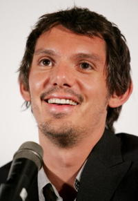 Lukas Haas at the press conference for the film