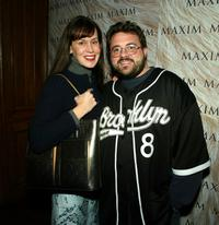 Jennifer Schwalbach Smith and Kevin Smith at the Maxim Magazine's