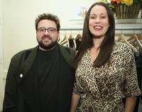 Kevin Smith and Jennifer Schwalbach Smith at the