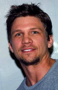 Marc Blucas at the Annenberg Foundation Youth I. N. C. Net Gain 2003 Celebrity Basketball Game.