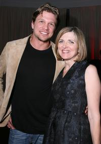 Marc Blucas and Robin Swicord at the after party premiere of