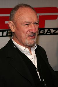 Gene Hackman at the Next House ESPN The Magazine party.