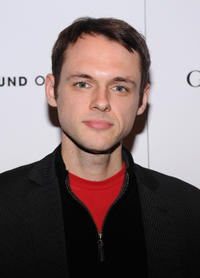 Christopher Denham at the New York premiere of