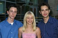 Ryan Kelley, Carly Schroeder and Scot Mechlowicz at the premiere of