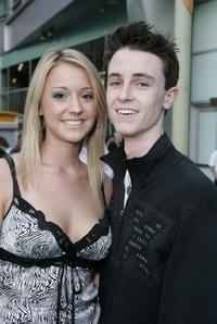 Olivia Weil and Ryan Kelley at the premiere of