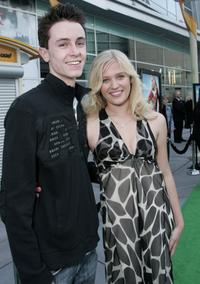 Ryan Kelley and Carly Schroeder at the premiere of