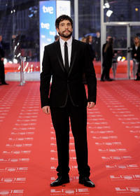 Unax Ugalde at the red carpet of Goya Cinema Awards 2011 in Spain.