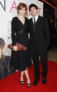 Nora Tschirner and Unax Ugalde at the Berlin premiere of