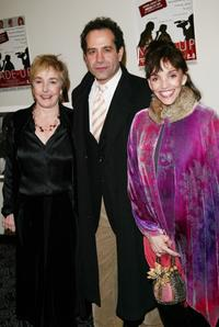 Lynne Adams, Tony Shalhoub and Brooke Adams at the New York premiere of