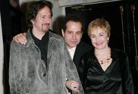 Michael Wolff, director Tony Shalhoub and Lynne Adams at the premiere of