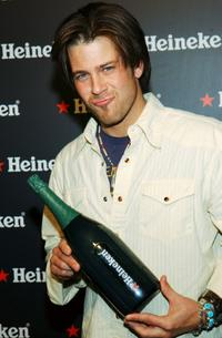 Christian Kane at the UpFront Week Closing Night Party.