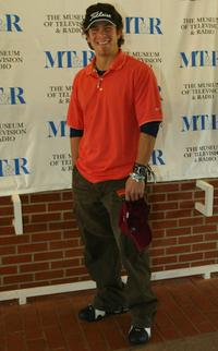 Christian Kane at the Museum of Television and Radios Third Celebrity Golf Classic.