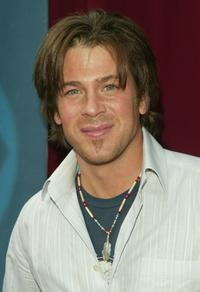 Christian Kane at the CBS upfront.