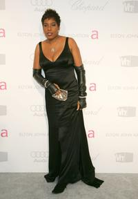 Macy Gray at the 15th Annual Elton John AIDS Foundation Academy Awards viewing party.