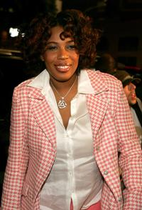 Macy Gray at the premiere of