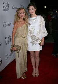 Rachel Zoe and Emmy Rossum at the launch of the new book entitiled