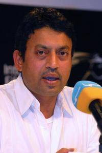 Irfan Khan at the Dubai Film Festival.