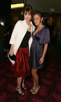 Mary Elizabeth Winstead and Crystal Lowe at the premiere of