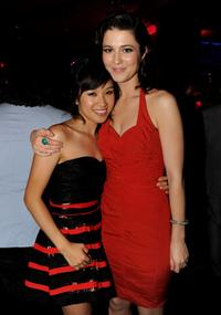 Ellen Wong and Mary Elizabeth Winstead at the California premiere of