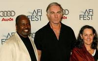 Albert Hall, Director John Sayles and Producer Maggie Renzi at the AFI FEST 2007.