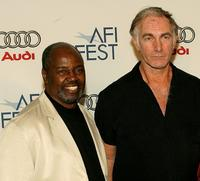 Albert Hall and Director John Sayles at the AFI FEST 2007.