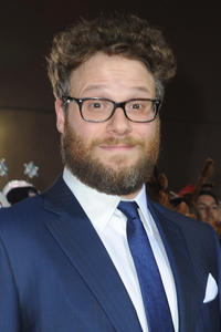 Seth Rogan at the California premiere of