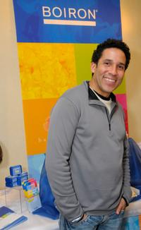 Oscar Nunez at the Luxury Lounge in honor of the 2008 SAG Awards featuring Boiron products.
