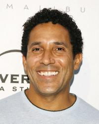 Oscar Nunez at the Universal Media Studios Emmy Party.