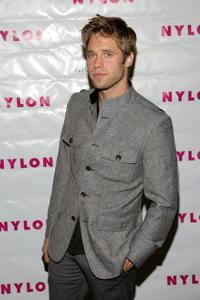Shaun Sipos at the Nylon Magazine's TV Issue Launch party.