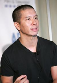 Reggie Lee at the Chinaman's Chance press conference.