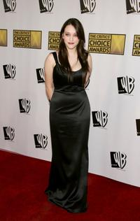 Kat Dennings at the 11th Annual Critics' Choice Awards.