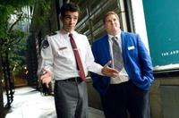 Jay Baruchel as Kirk and Nate Torrence as Devon in