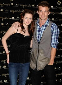 Kristen Stewart and Cam Gigandet at the photocall of
