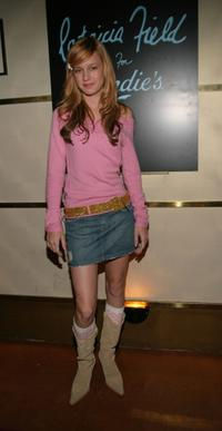 Brie Larson at the Patricia Field for Candies Spring Footwear and Handbag Collections Launch Party during the Olympus Fashion Week Spring 2005.