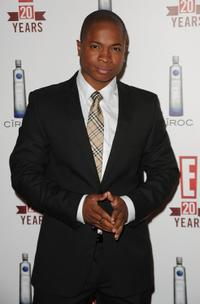 Sam Jones III at the 20th Anniversary party celebrating two decades of pop culture.