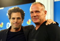 Mark Ruffalo and Brian Goodman at the premiere of