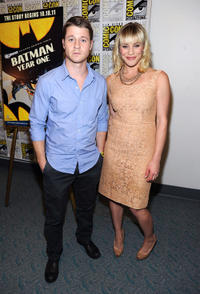 Benjamin McKenzie and Katee Sackhoff at the press room for
