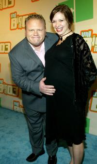 Larry Joe Campbell and his wife at the VH1's Big In 2003 Awards.