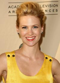 January Jones at the Academy of Television Arts and Sciences panel discussion for AMC's