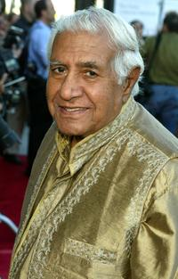 Kumar Pallana at the premiere of