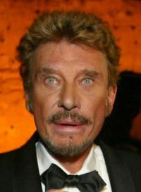 Johnny Hallyday at the second annual Marrakesh film festival.