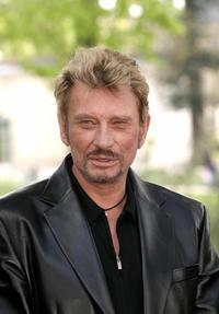 Johnny Hallyday at the Cognac Film Festival.